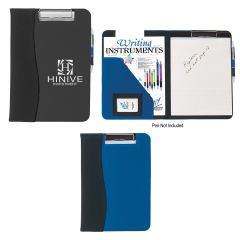 Microfiber Clip Board With Embossed Pvc Trim