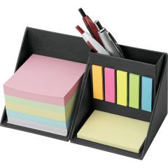Pen Cup With Sticky Notes