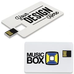 Personalized Card Flash Drive