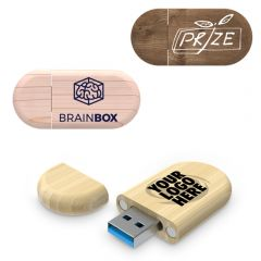 Promotional Wooden USB Flash Drive