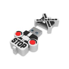 Railroad Crossing USB Flash Drive