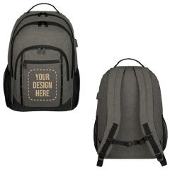 Reagan Heathered Backpack