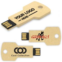 Recycled Paper USB Key Drive