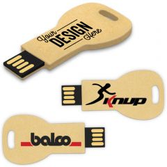 Recycled Paper USB Key Flash Drive