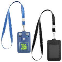 Rfid Card Holder With Lanyard