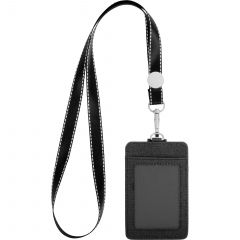Rfid Card Holder With Lanyard