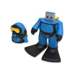 Scuba Diver USB Flash Drive