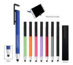 Sleek Write Stylus Pen With Phone Stand