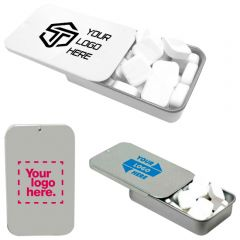 Slider Tin With Printed Mints
