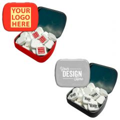 Small Tin With Printed Mints