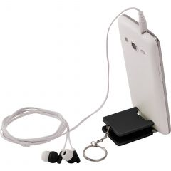 Spectra Earbuds And Mobile Phone Stand