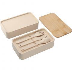Stackable Bamboo Fiber Bento Box