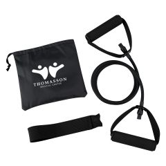 Yoga Stretch Band In Carry Pouch