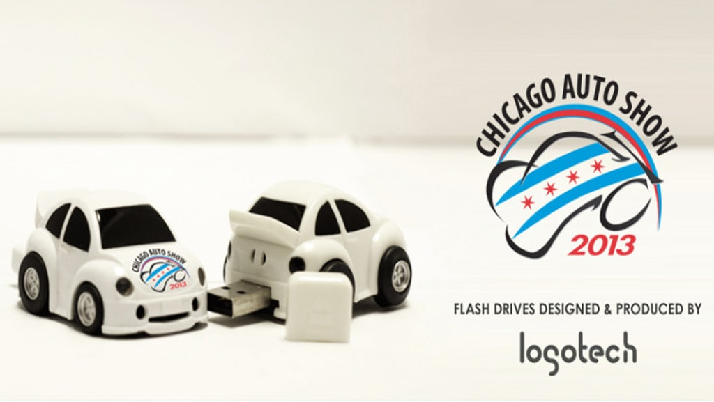 Car Flash Drives for Chicago Auto Show 2013