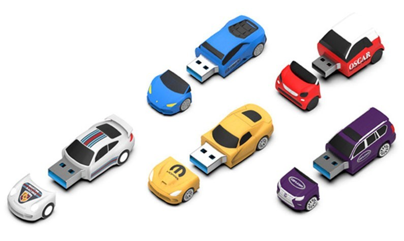 Custom USB Flash Drives For Automotive Industry