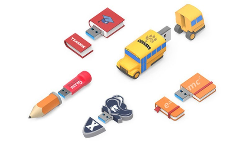 Custom USB Flash Drives For Education Industry