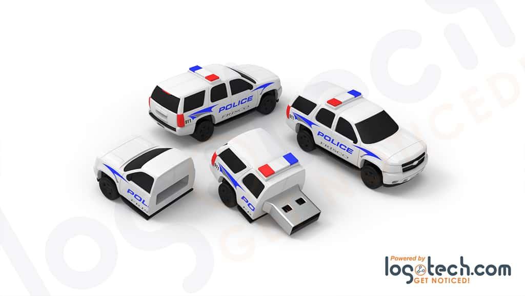 Police SUV USB Flash Drive