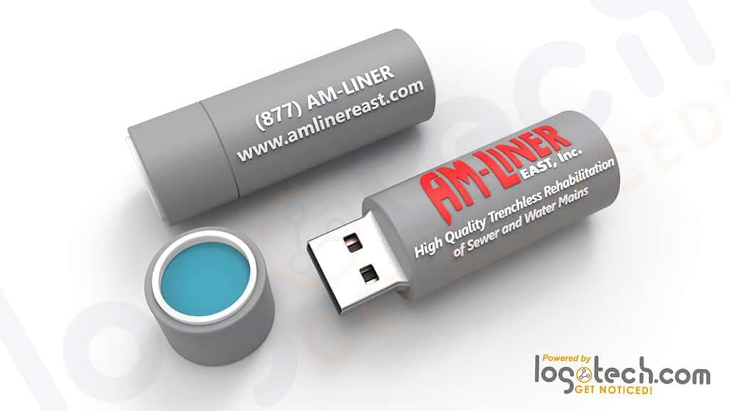 PVC Pipe USB Flash Drive