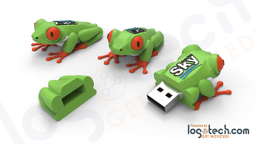 Tree Frog USB Flash Drive