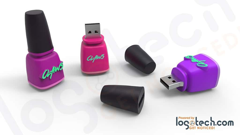 Nail Polish Bottle USB Flash Drive
