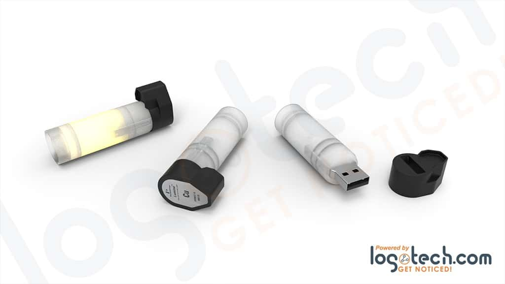 Working Light Bulb USB Flash Drive