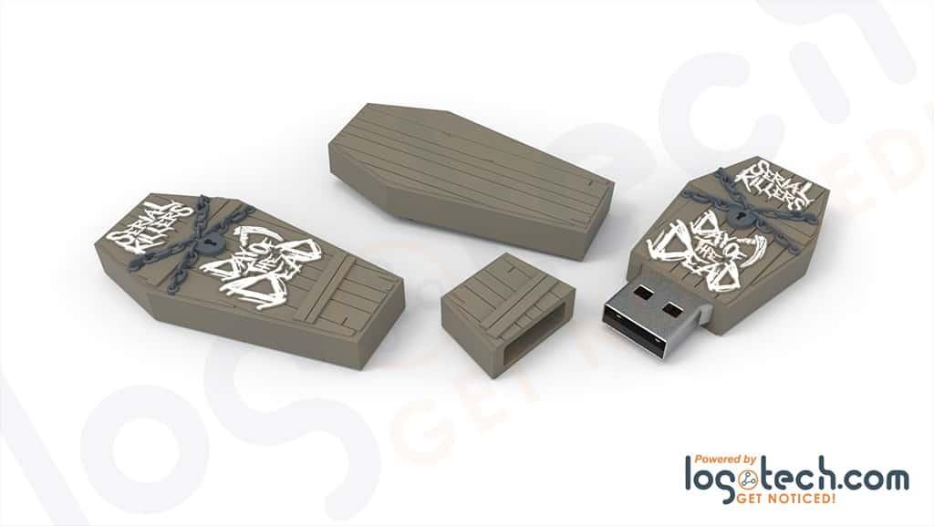 Coffin USB Flash Drive