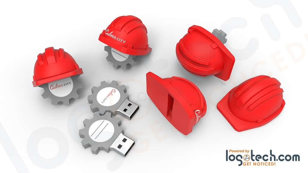 Hard Hat USB Flash Drive