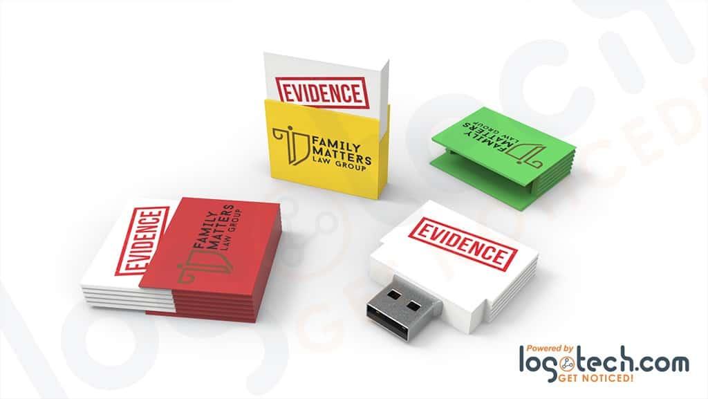 File Folder USB Flash Drive