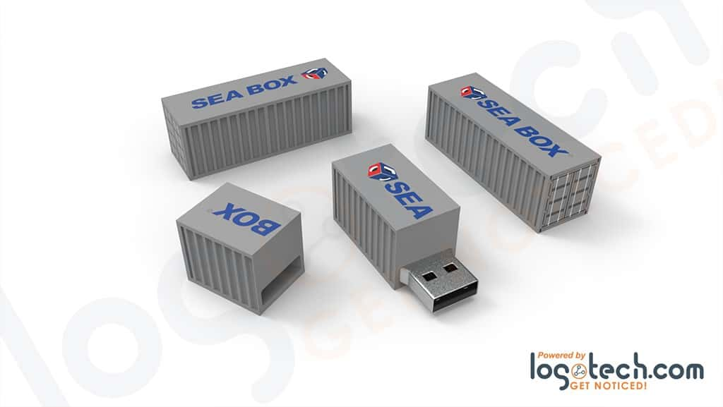 Shipping Container USB Flash Drive