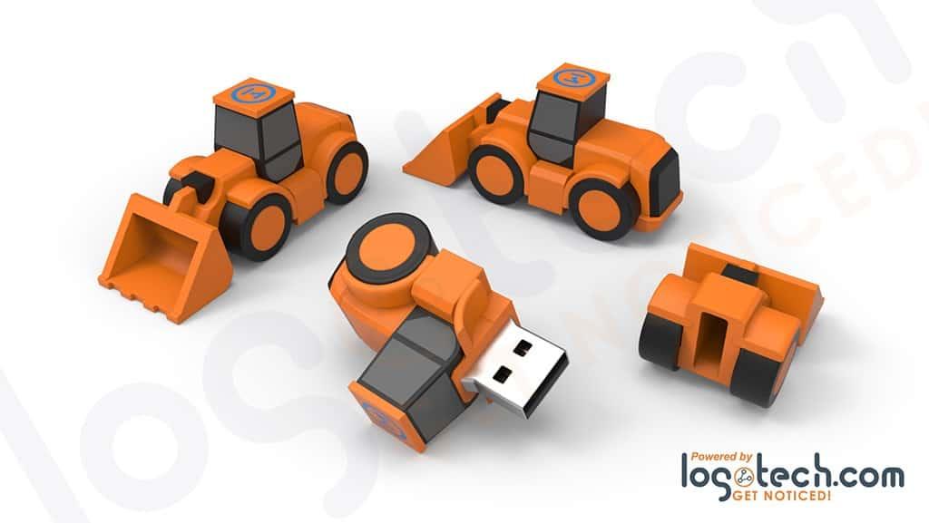 Bulldozer USB Flash Drive