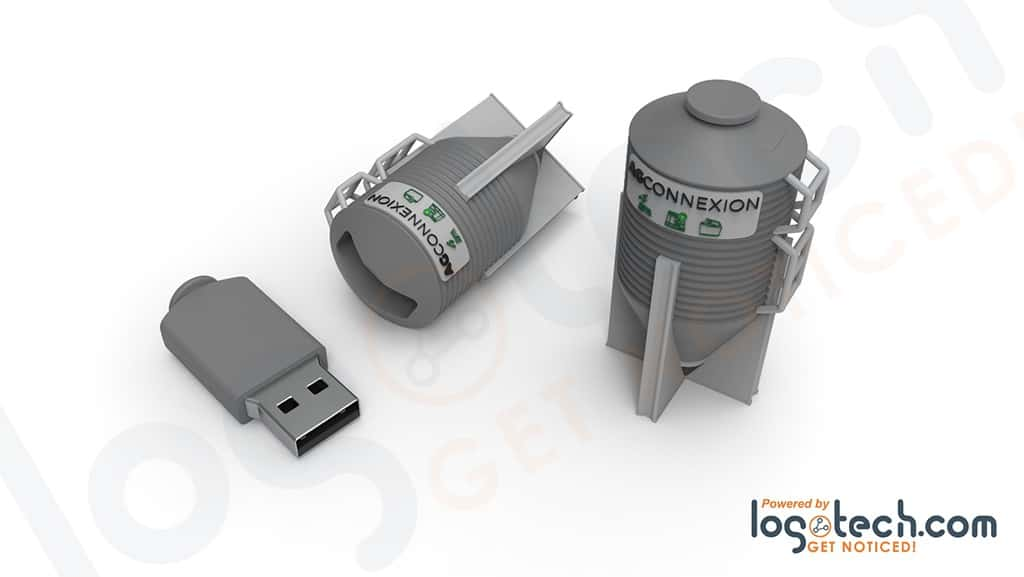 Grain Silo USB Flash Drive