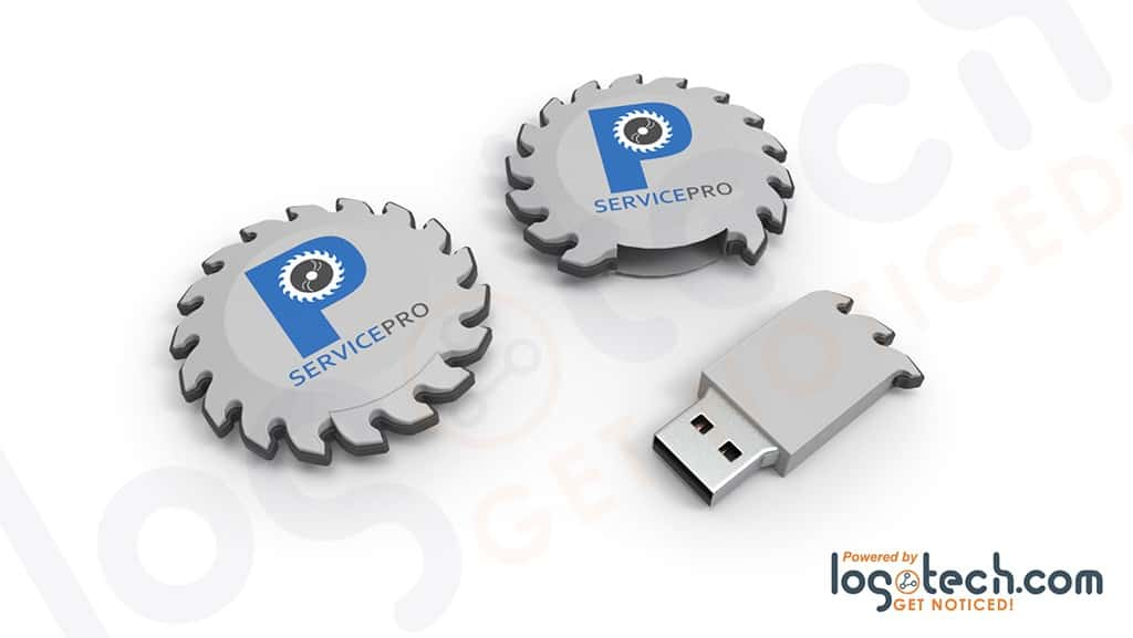 Circular Saw Blade USB Flash Drive