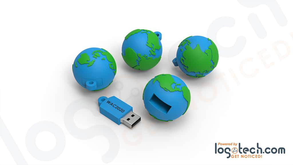 Globe USB Flash Drive