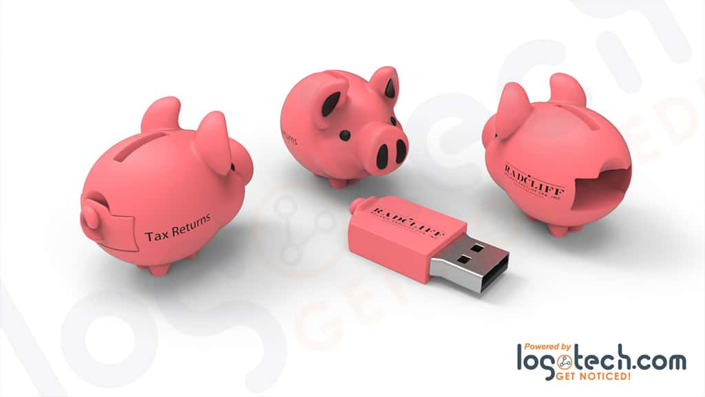Pig USB Flash Drive