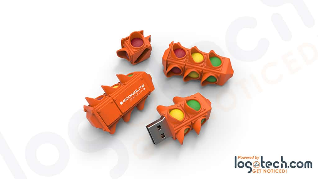 Stoplight USB Flash Drive