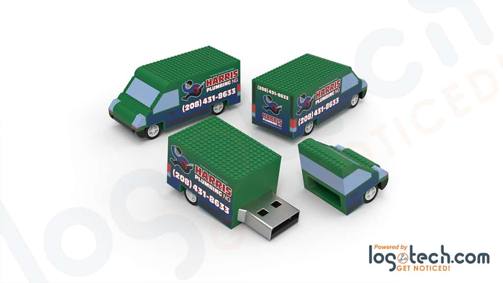 Van USB Flash Drive