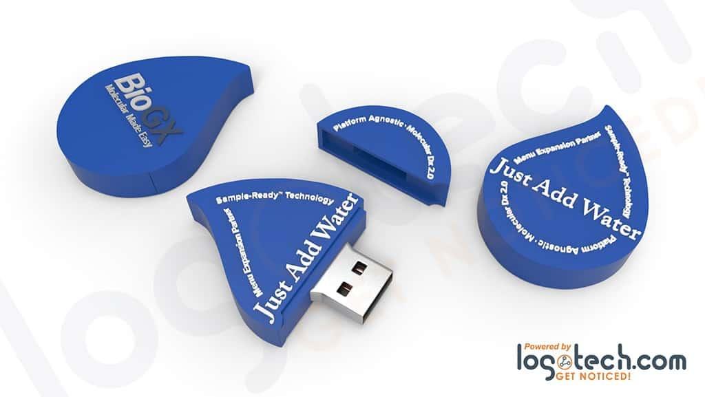 Manufacturing 2D USB Flash Drives