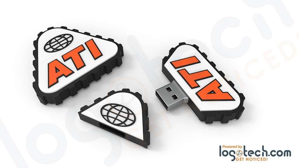 Rubber Tracks USB Flash Drive