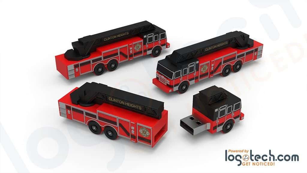 Fire Truck USB Flash Drive