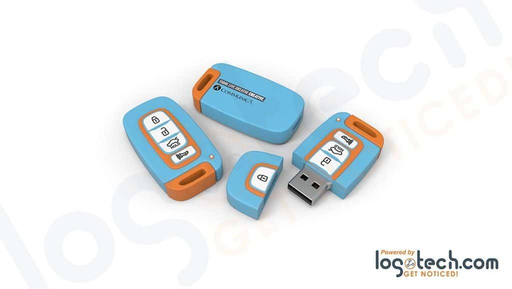 Key Fob USB Flash Drive