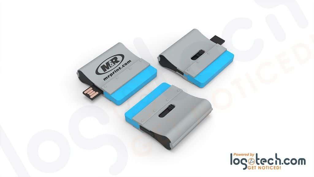 Silkscreen Squeegee USB Flash Drive