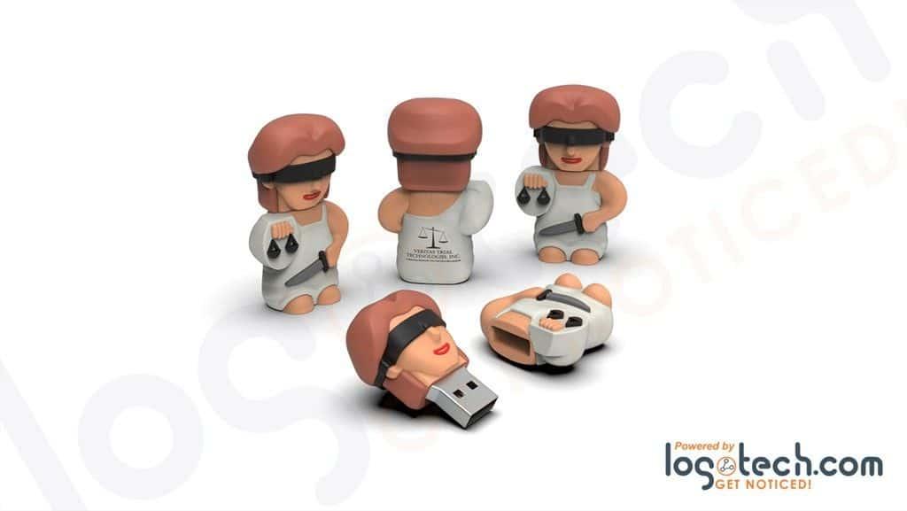 Lady Justice USB Flash Drive