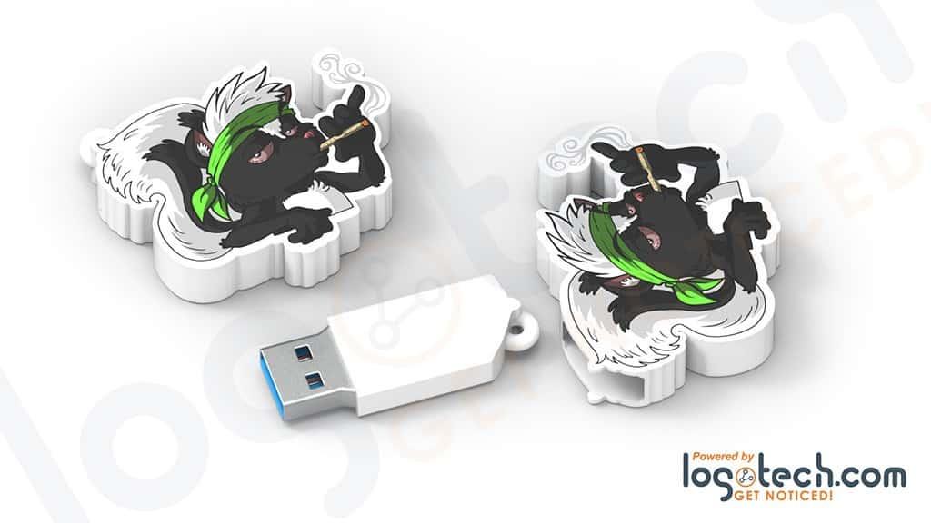 Custom USB Flash Drives for Cannabis