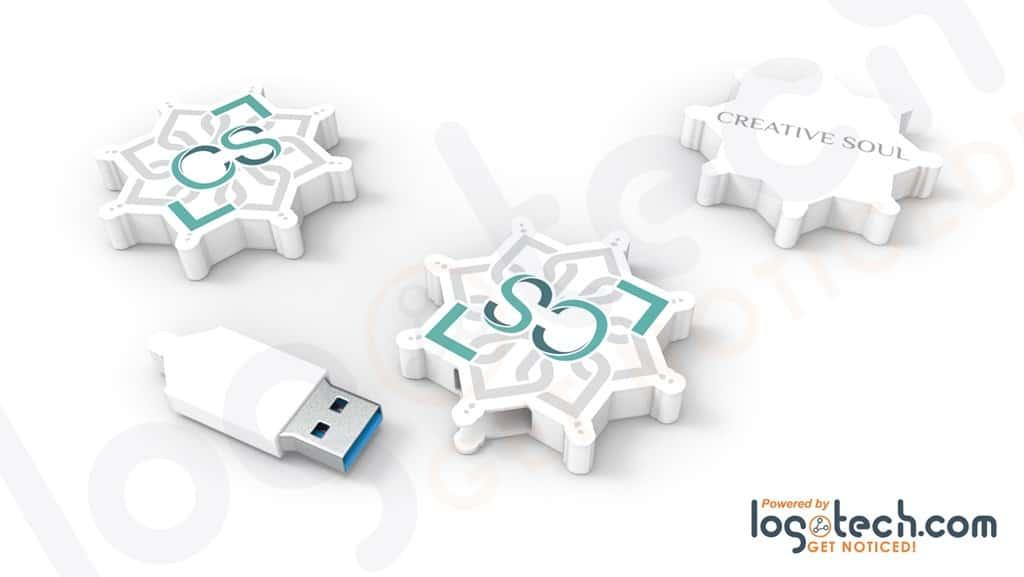 Snowflake USB Flash Drive