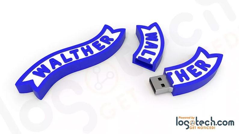 Custom Ribbon USB Flash Drive