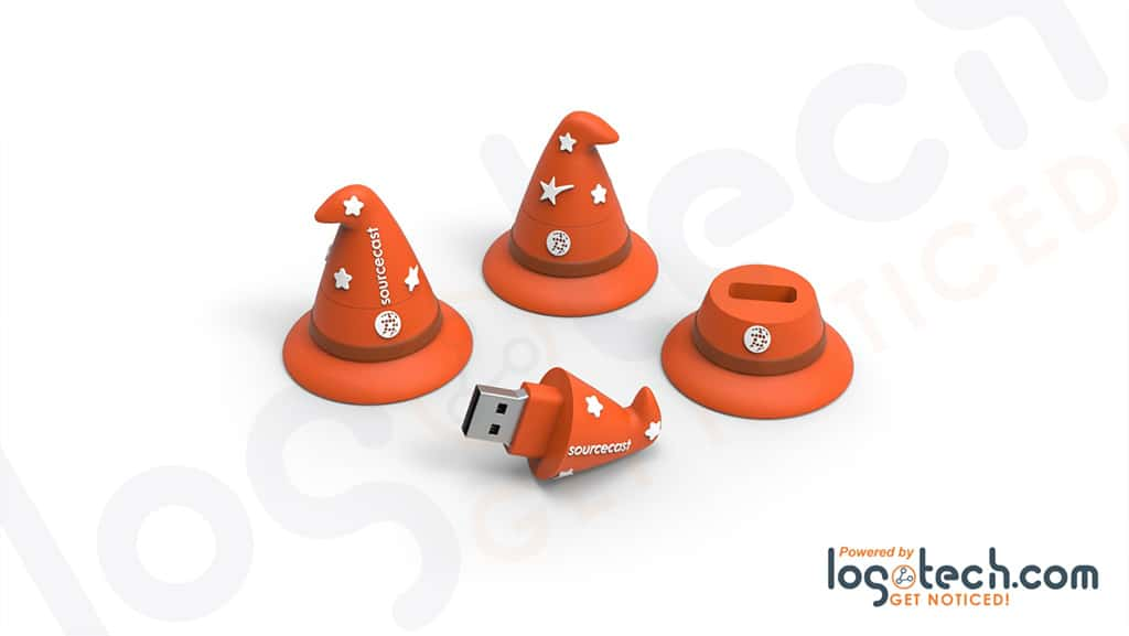Witch Hat USB Flash Drive