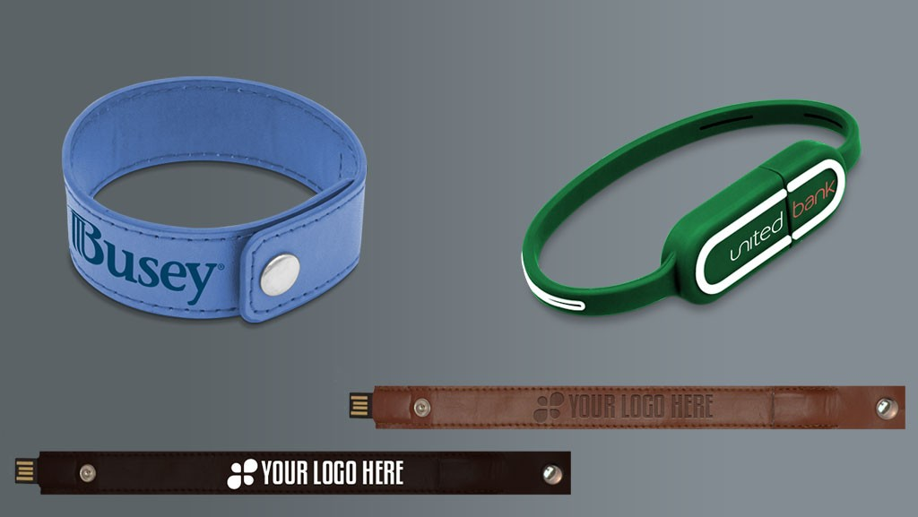 Tech Jewelry and a Marketing Tool: USB Wristbands