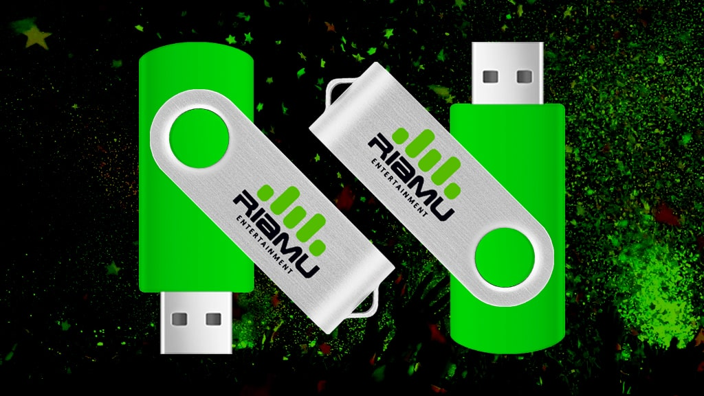 Custom USB Flash Drive Concept for Riamu Entertainment