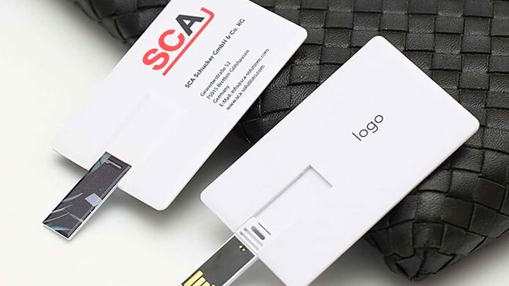 USB Business Cards Grow in Popularity