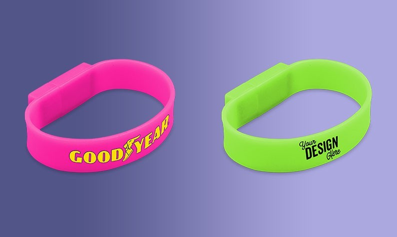 Wristband USB Drives Add Value to Your Marketing Campaign